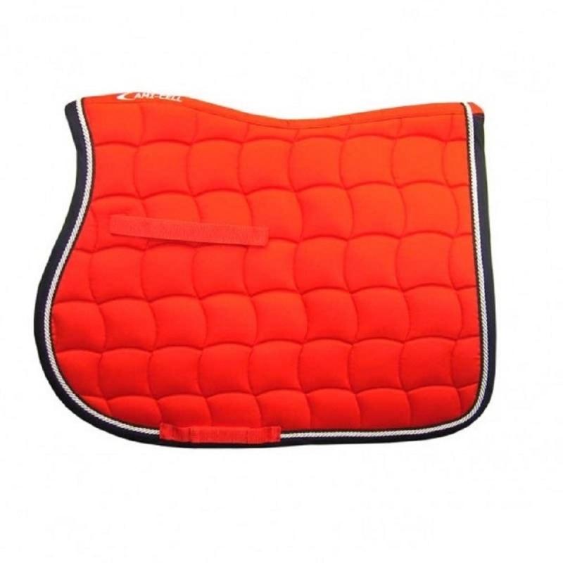 Lami-cell sottosella in cotone sagomato collezione Mirage colore Arancione