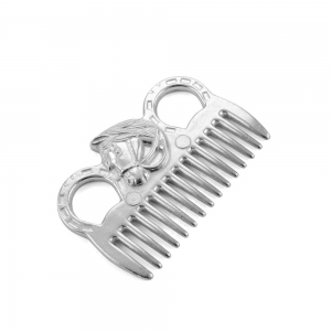 Umbria Equitation aluminium comb for horse head