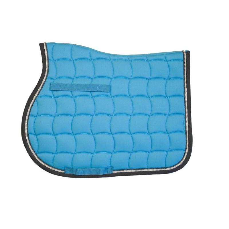 Lami-cell sottosella in cotone sagomato collezione Mirage colore Blu Royal
