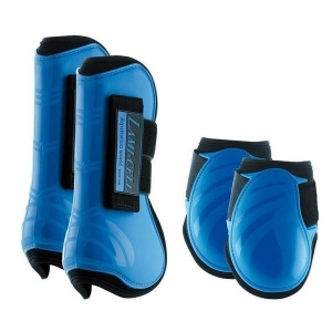 Lami-cell tendon boots and fetlock boots made with Neoprene  Mirage collection  Blu Royal color