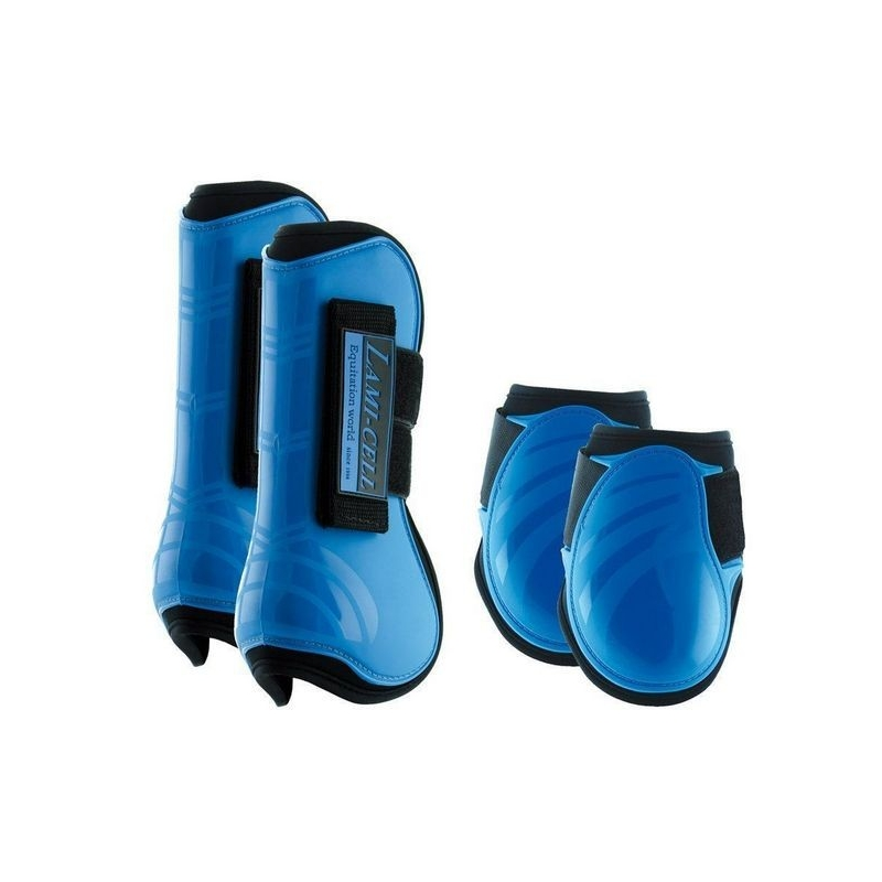 Lami-cell Paratendini e Paranocche in neoprene Mirage collection colore Blu