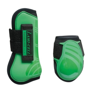 Lami-cell Paratendini e Paranocche in neoprene Mirage collection colore Verde