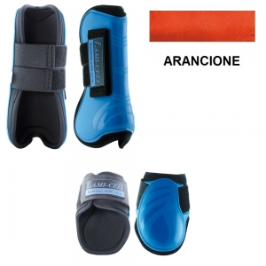 Lami-cell Paratendini e Paranocche in neoprene Mirage collection colore Arancione