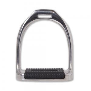 Tattini alluminum stirrup with rubber platform