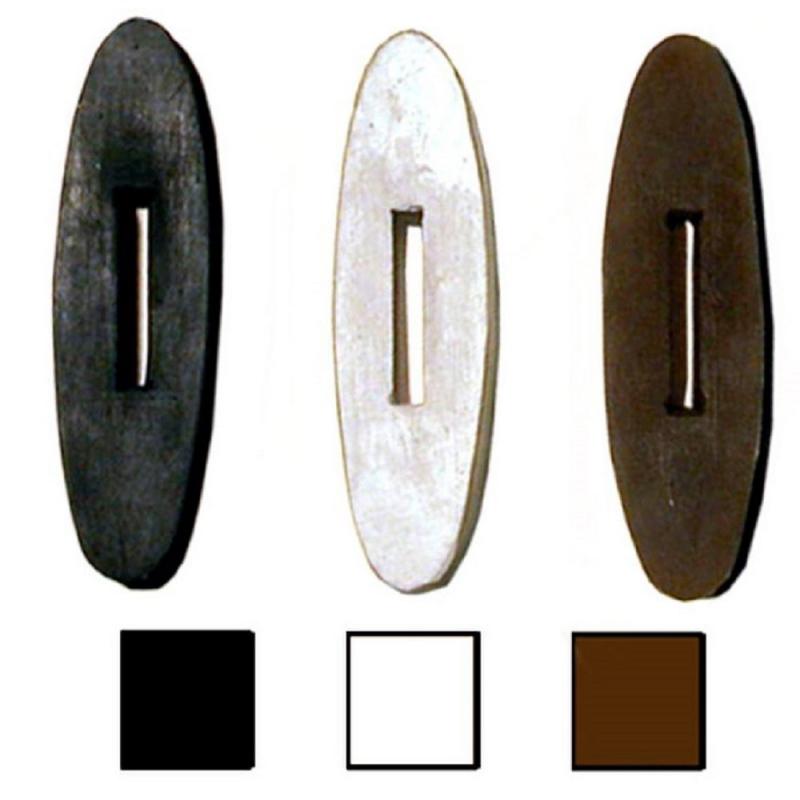 Tattini oliva in gomma per redini da equitazione