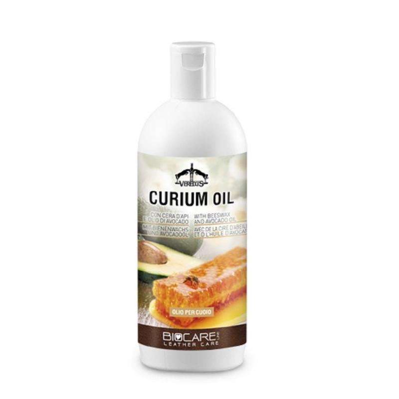 Veredus curium oil per cuoio con cera d'api e olio di avocado