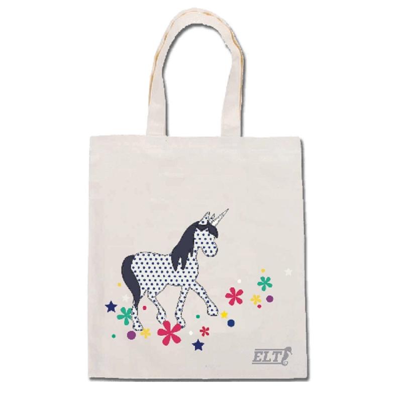 Waldhausen shopping bag con tema equestre unicorno