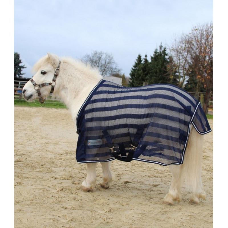 Waldhausen coperta a rete con cinghie per cavallo e pony