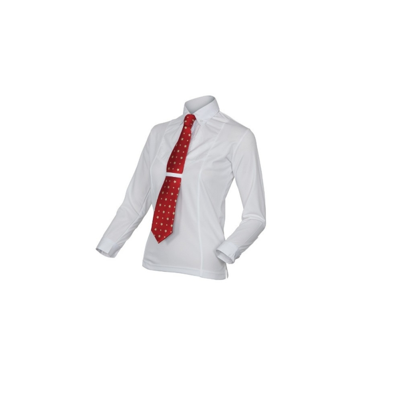 Shires camicia da concorso da bambino a manica lunga