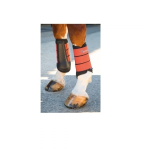 Shires neoprene brushing boots per cavalli e pony