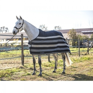 Equiline horse blanket made with pile steven model