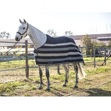 Equiline horse blanket made with pile steven model