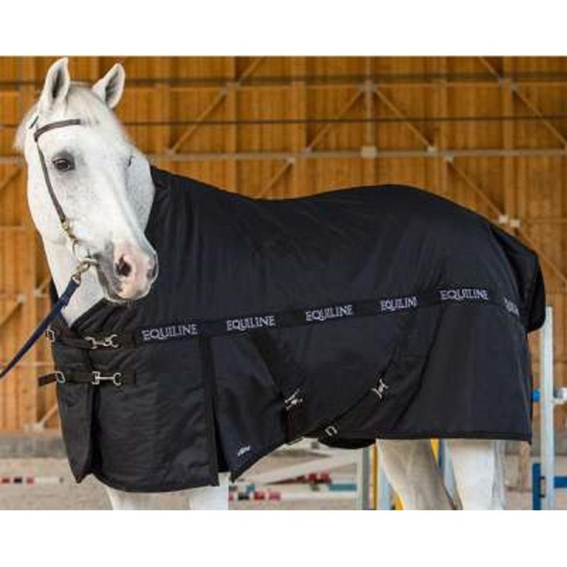 Equiline coperta per cavallo da paddock impermeabile colore blu modello clint