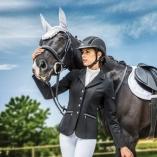 Shires coperta Tempest original da paddock 100 g da cavallo e pony colore azzurro