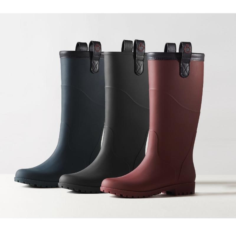 Cavalleria Toscana Women's Waterproof Lined Boot colore bordeaux da equitazione
