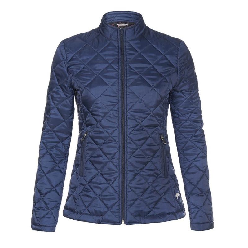 Sarm Hippique giacca da donna modello Chloè in poliestere colore blu