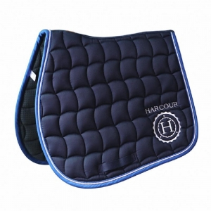 Harcour underseat Ambassador model  Blue Navy color with logo