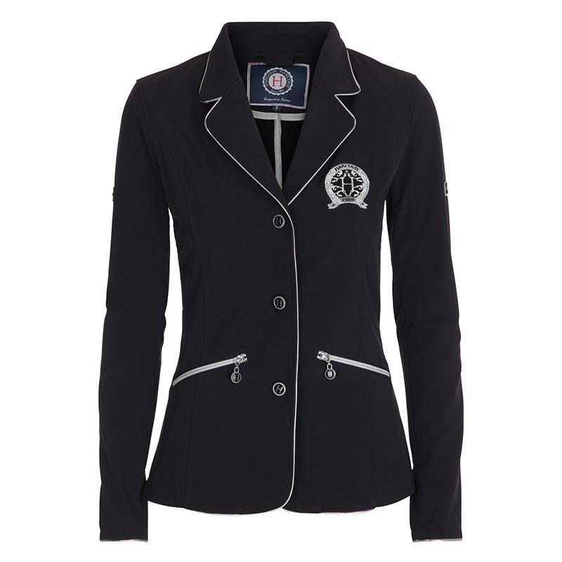 Harcour giacca da competizione da donna modello Lucky colore Blu