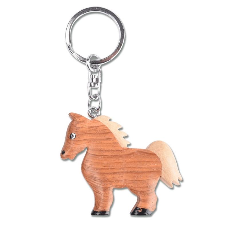 Waldhausen portachiavi a forma di cavallo in legno
