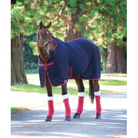 Shires coperta di pile da equitazione modello Jersy Cooler