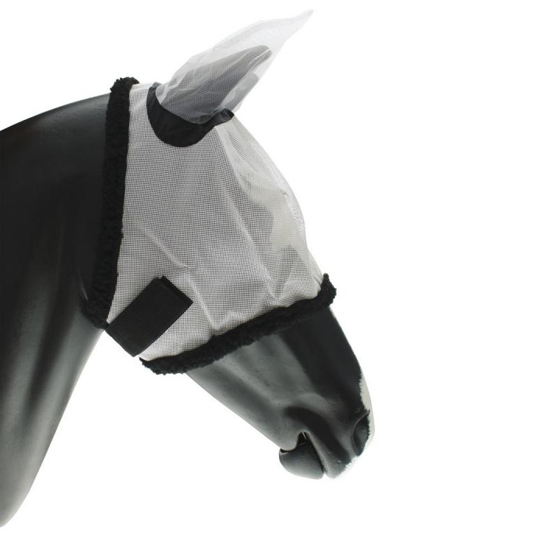 Umbria Equitazione maschera antimosche con copriorecchie per cavalli