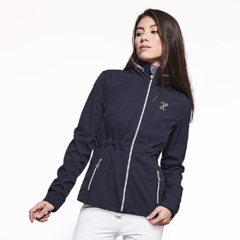 Harcour giacca in tessuto softshell da donna antivento modello Unna