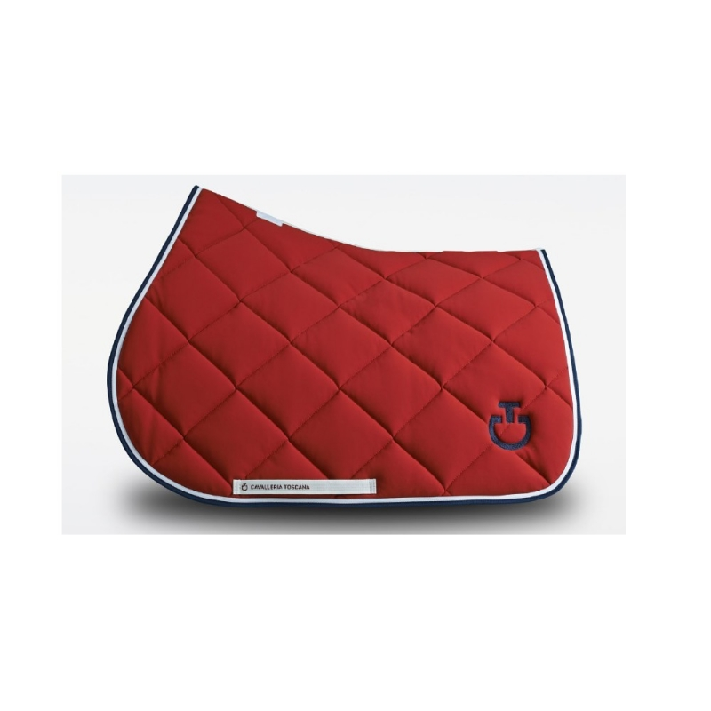 low priced 45324 0f1c3 Cavalleria Toscana sottosella Jumping da cavallo colore Rosso - Selleria  Store