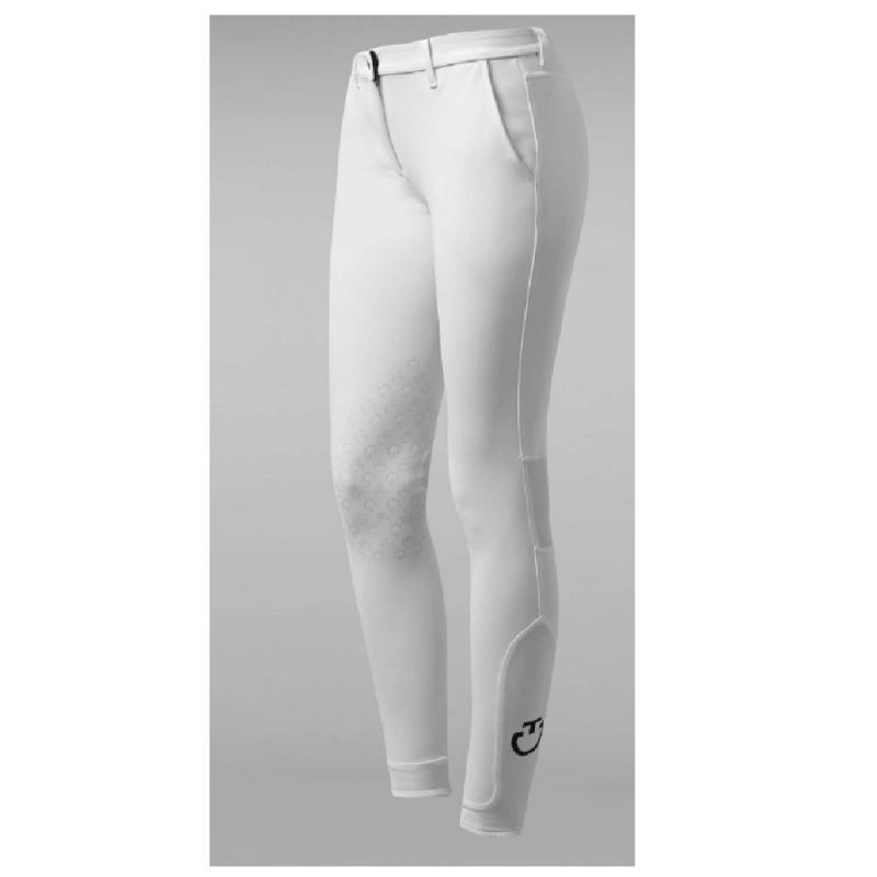 Cavalleria Toscana pantalone da donna modelle cut-out grigio scuro