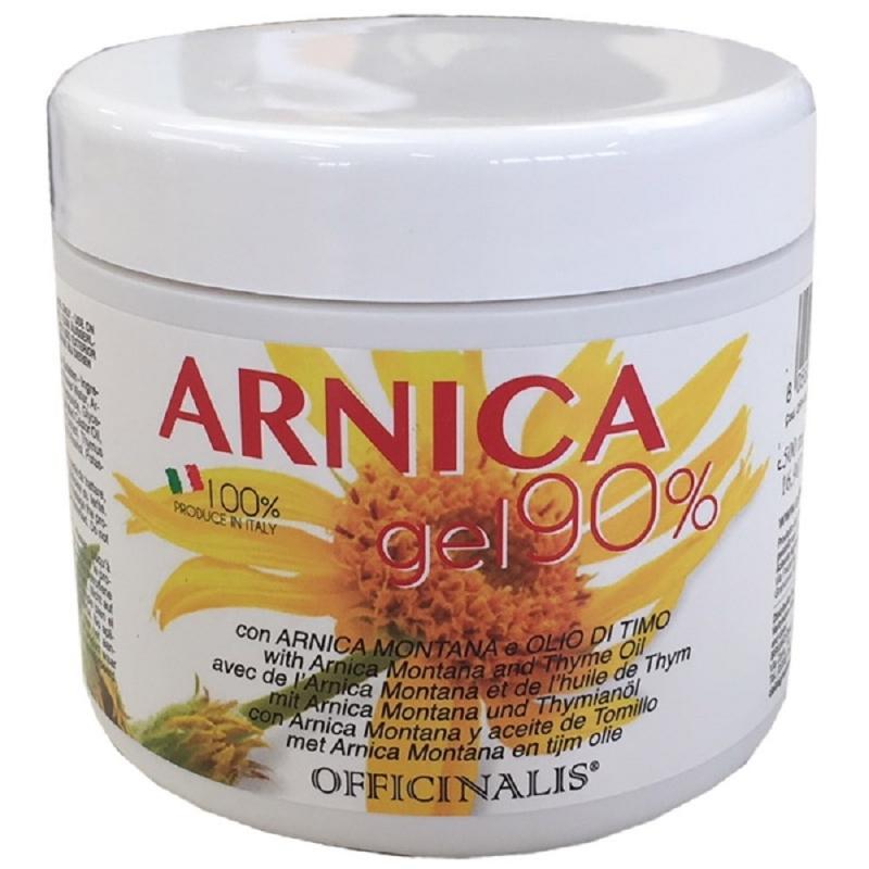 Officinalis Arnica Gel 90% con arnica montana e olio di timo e Menta e estratti di TImo e Salvia 500ml