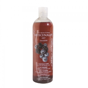 Officinalis Shampoo bluebarry for horses with balck or deep skin