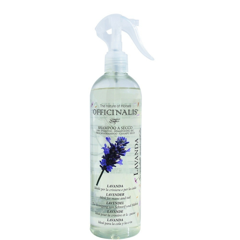 Officinalis Shampoo Secco Lavanda ideale per coda la criniera del cavallo 500 ml