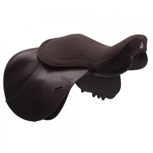 ACavallo Back Protection AC501-brown - brown gel seat saver jump dri-lex 10mm