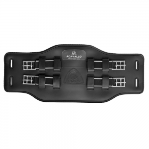 ACavallo Girth AC564-black Gel & Pvc Icelandic girth