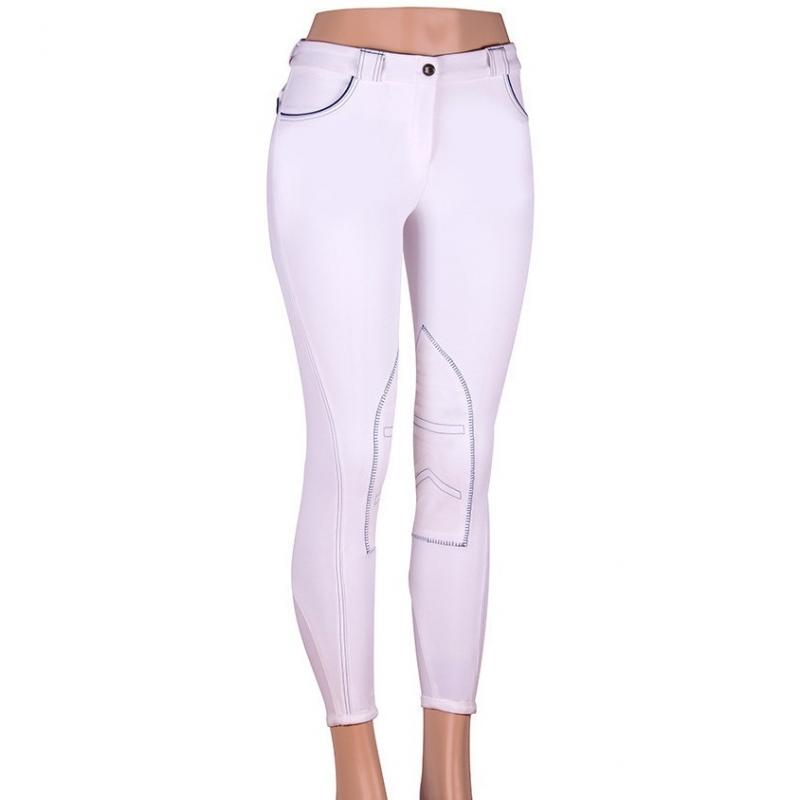 Sarm Hippique Pantalone donna modello Rebecca Grip 90I Colore Bianco