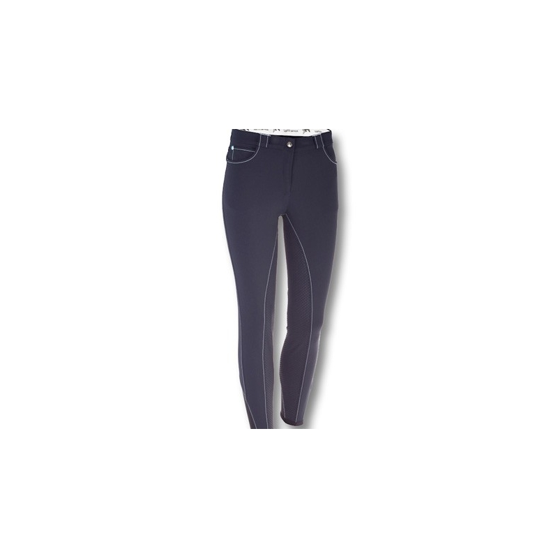 Sarm Hippique Pantalone donna modello Dakota full grip 09- EM2M2G Blu