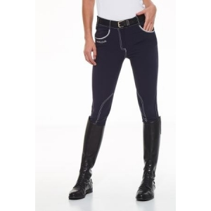 Harcour woman trousers  deep grey color Sultane model