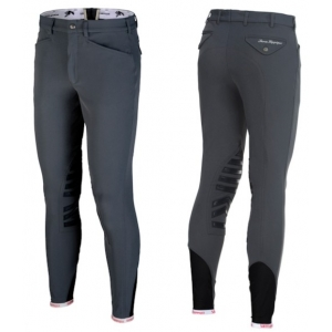Sarm Hippique equitation men trousers   Patrick anatomic model Grip 09 grey