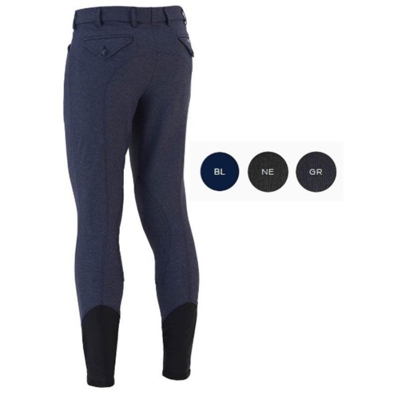 Sarm Hippique Pantalone uomo modello Patrick Grip AN/90I Colore Blu