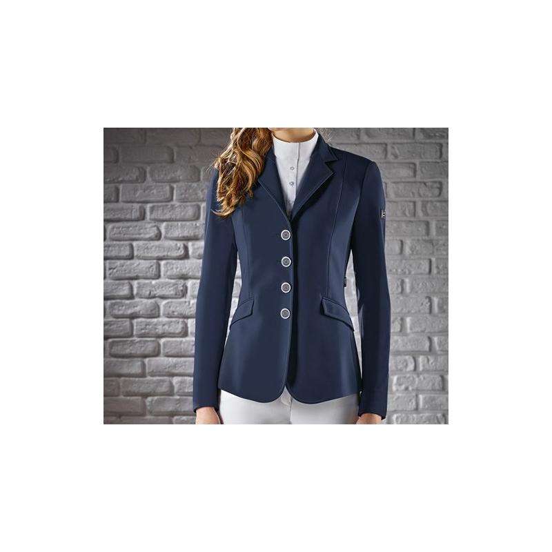 Equiline giacca da concorso donna modello Gait Colore Blu