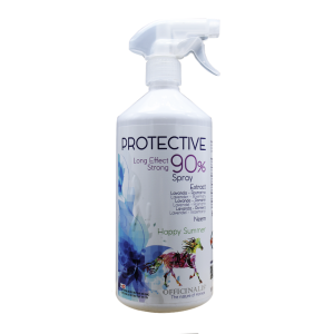 Repellente Spray antimosche protective per cavalli Officinalis 1000 ml