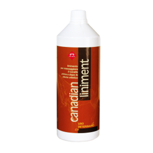 FM Italia Canadian Liniment product that protect and maintain in a perfect way the parts of the horses
