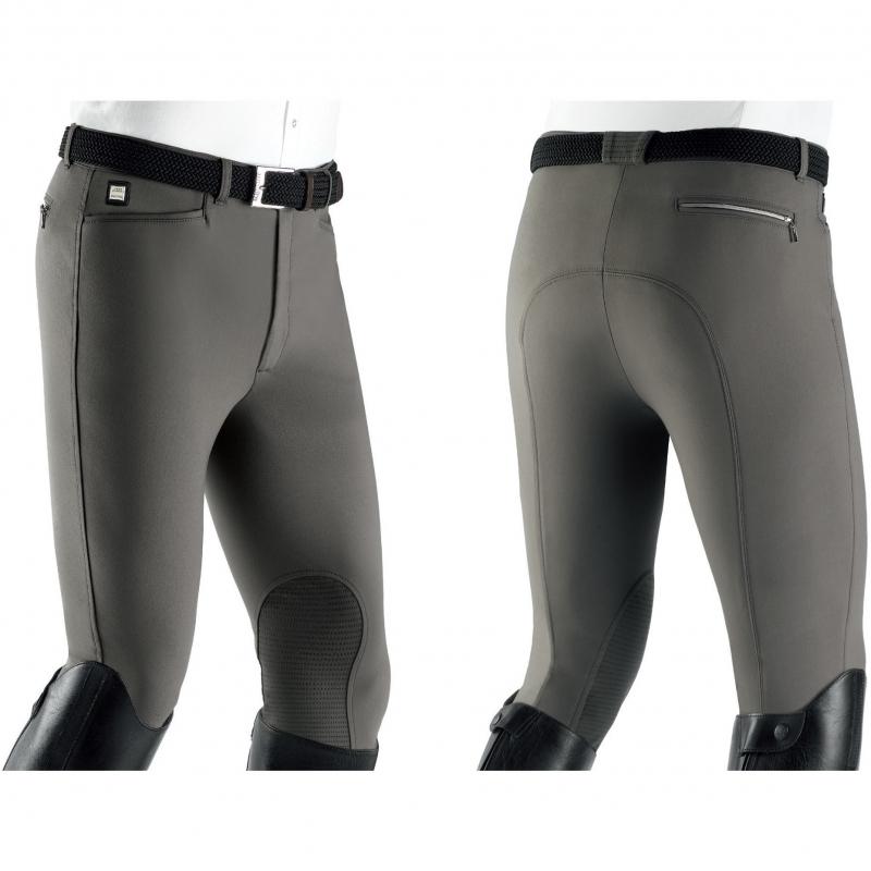 Equiline pantalone uomo modello Willow-X-Grip colore Fango