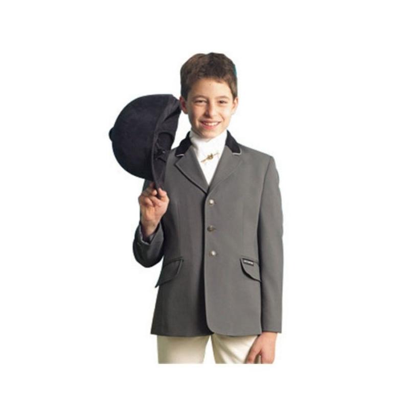 Sarm Hippique giacca da concorso bambino colore Grigio