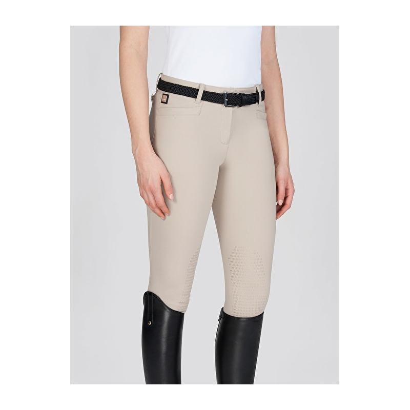 Equiline pantalone donna modello Ash-Grip colore Avio