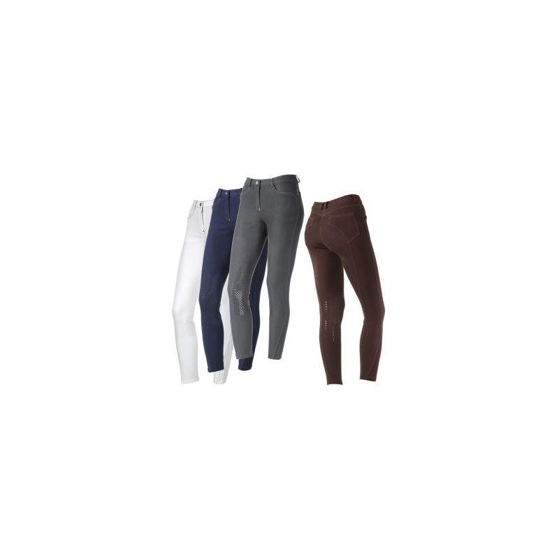 Tattini pantalone da donna modello Medea colore Bianco
