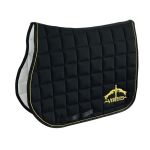 Veredus Microfiber underseat for jumping Black and gold