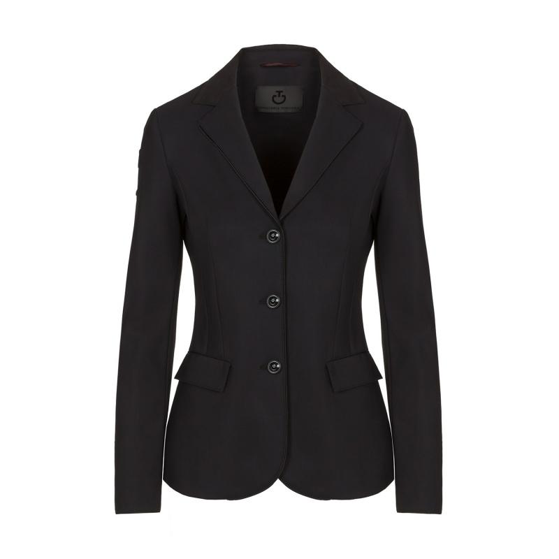 Cavalleria Toscana giacca da competizione da donna in tessuto elastico