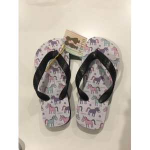 Italian flip flop with Equestrian insert , kids only