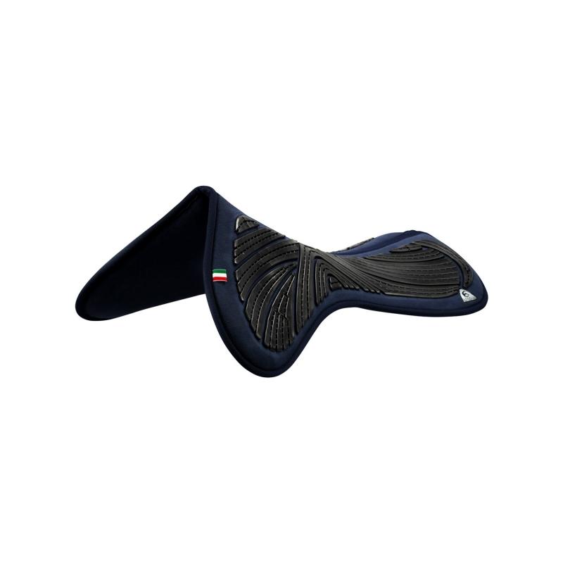ACavallo Back Protection AC230-black - black Close contact gel & memory foam half pad