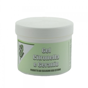 Umbria Equitation gel anti-fly made with citronella and geranium for horses